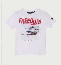 Le temps des cerises T-shirt wit auto freedom