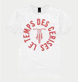 Le temps des cerises T-shirt basis wit logo le temps