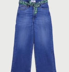 Le temps des cerises broek jeans hoge taille wijde pijp