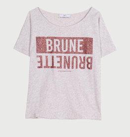 Le temps des cerises T-shirt grijs brunette