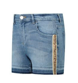 Guess short jeans white tape