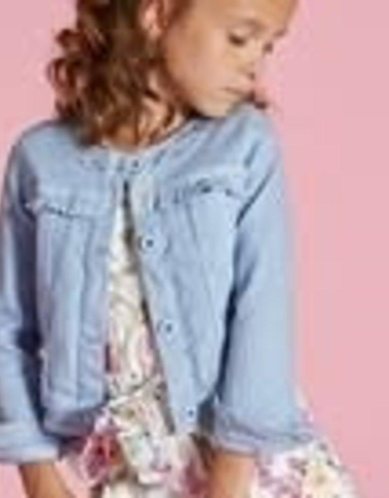 Blue Bay Party  blazer jeans licht blauw Ciel