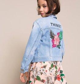 Twinset blazer vest jeans kraag
