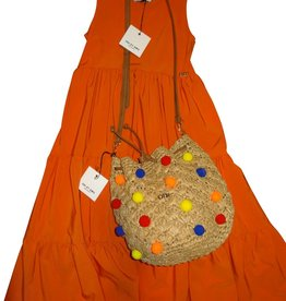 Odi et Amo jurk ODIJRD4808/022 orange