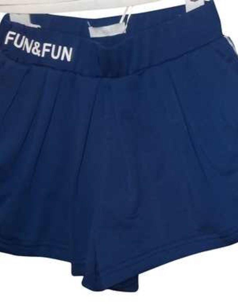 Fun Fun short blauw
