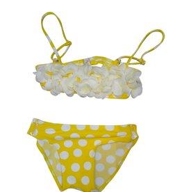 Selini bikini bollen geel