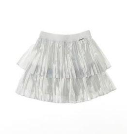Liu Jo rok zilver plissé ecru