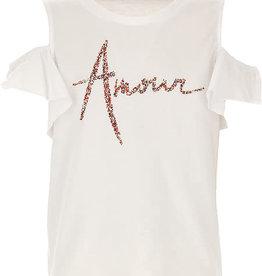 Liu Jo T-shirt wit amour glitter
