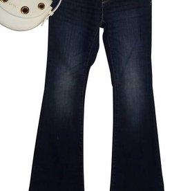 Liu Jo broek jeans wijde pijp onder