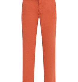 Aletta broek lang cognac oranje/bruin