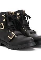 Twinset schoen zwart goud