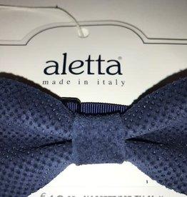 Aletta strik blauw donker