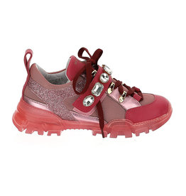 Monnalisa 1 sneakers fuchsia strass
