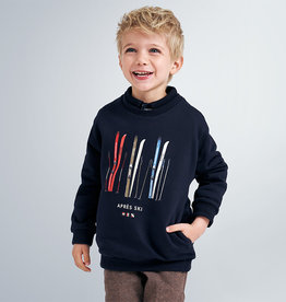 Mayoral sweater donkerblauw ski's