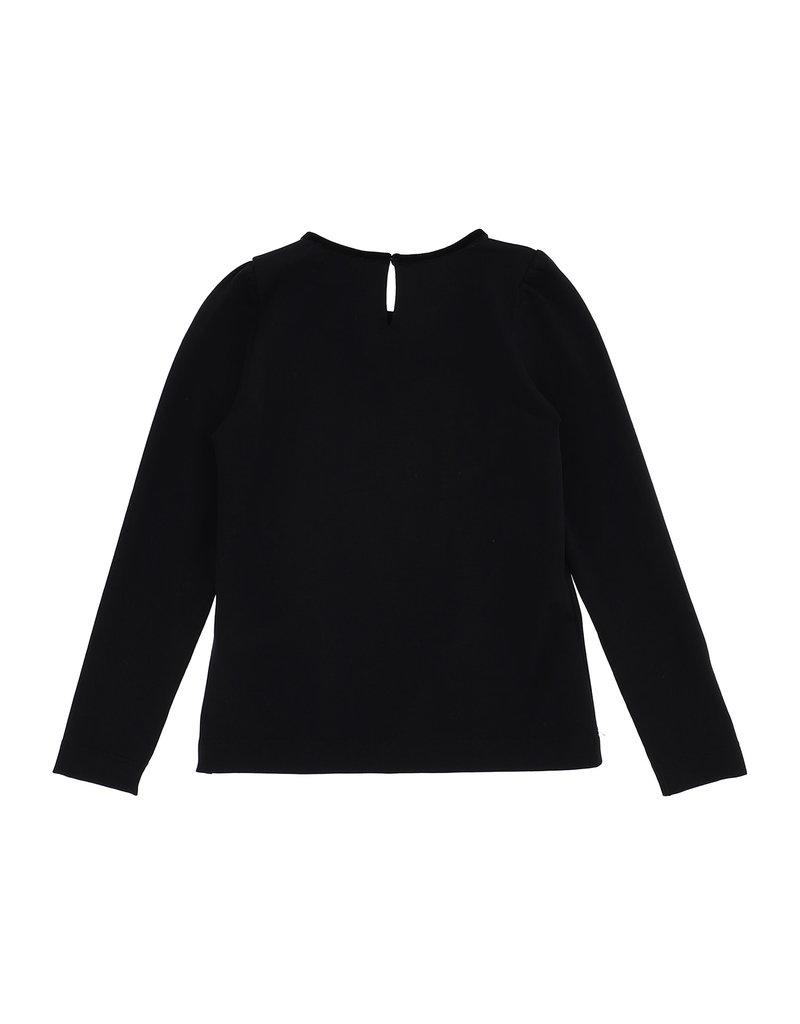Monnalisa T-shirt zwart so chic