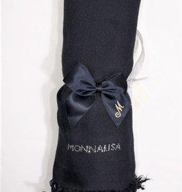 Monnalisa sjaal donker blauw