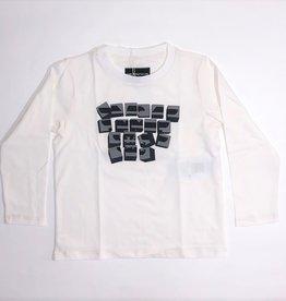 Armani T-shirt lm ecru