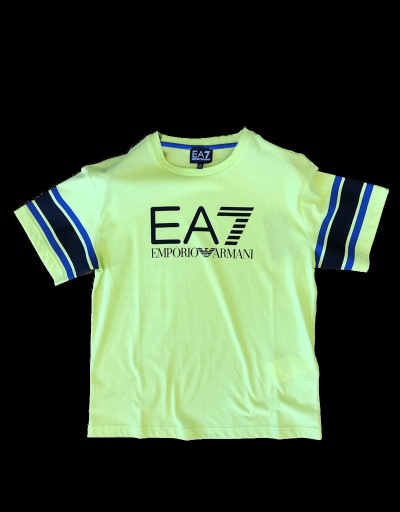 Armani/EA7 T-shirt fluo geel