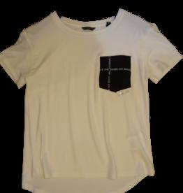 Guess t-shirt wit zwart zakje