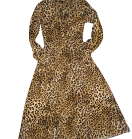 Guess jurk lang leopard