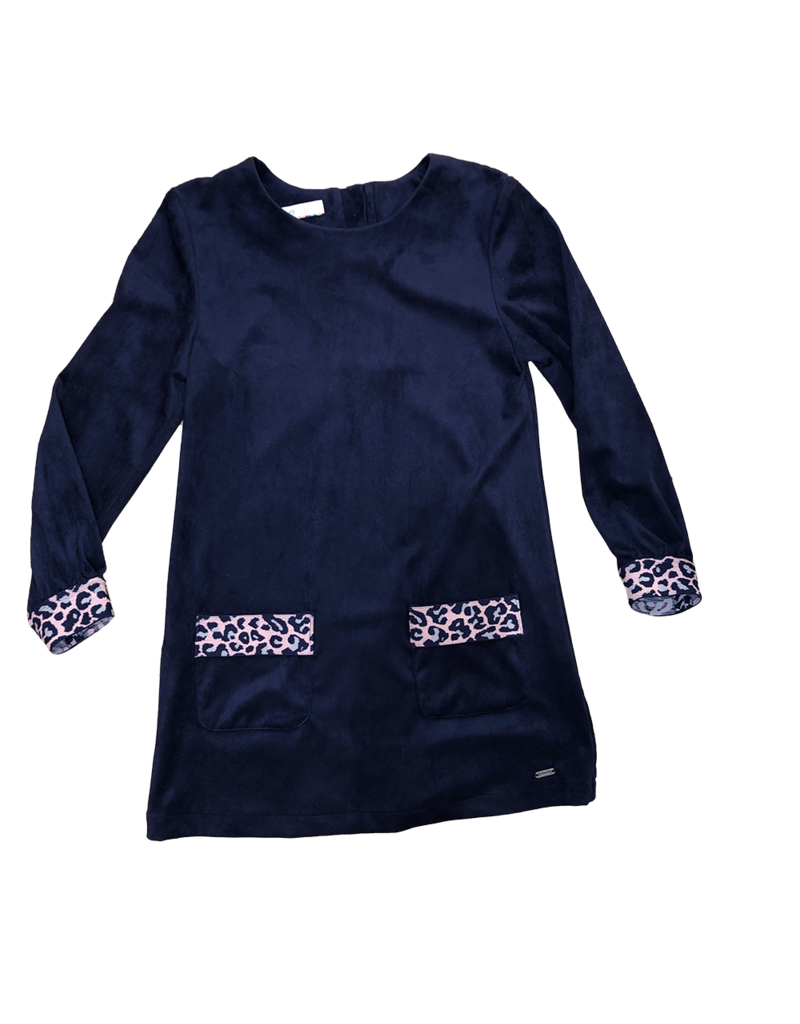 Blue Bay jurk donkerblauw  Maja