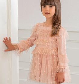 Abel&Lula jurk rose prinsesse