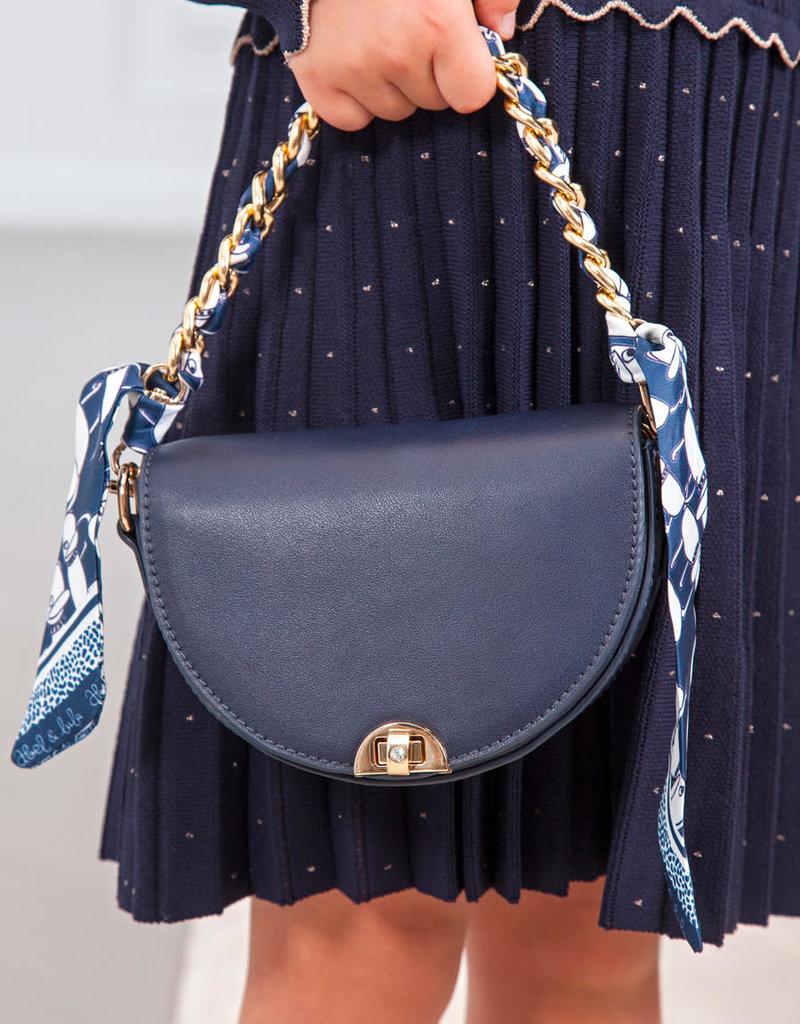 Abel&Lula tas donker blauw