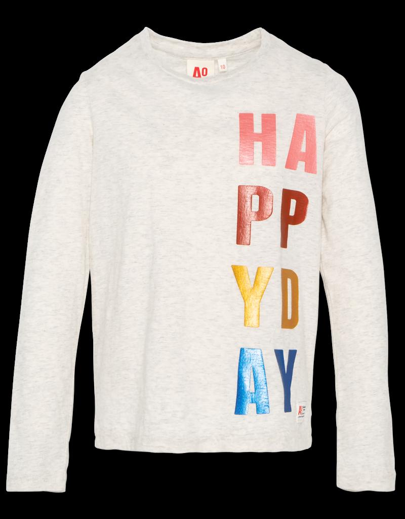 Ao76 sweater happy day