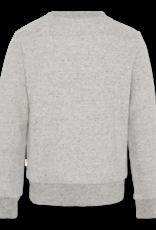 Ao76 grijze sweater best is better  fluo