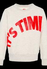 Ao76 ecru sweater it's time