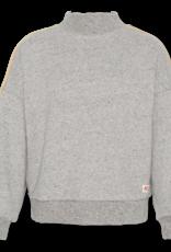 Ao76 oversized jog sweater grijs