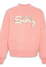 Ao76 oversized sweater silly rose