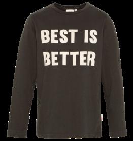 Ao76 t-shirt donker groen best is better