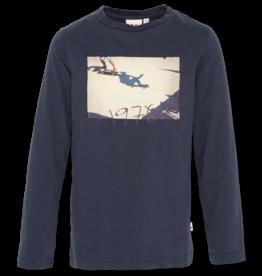 Ao76 t-shirt donker blauw skate
