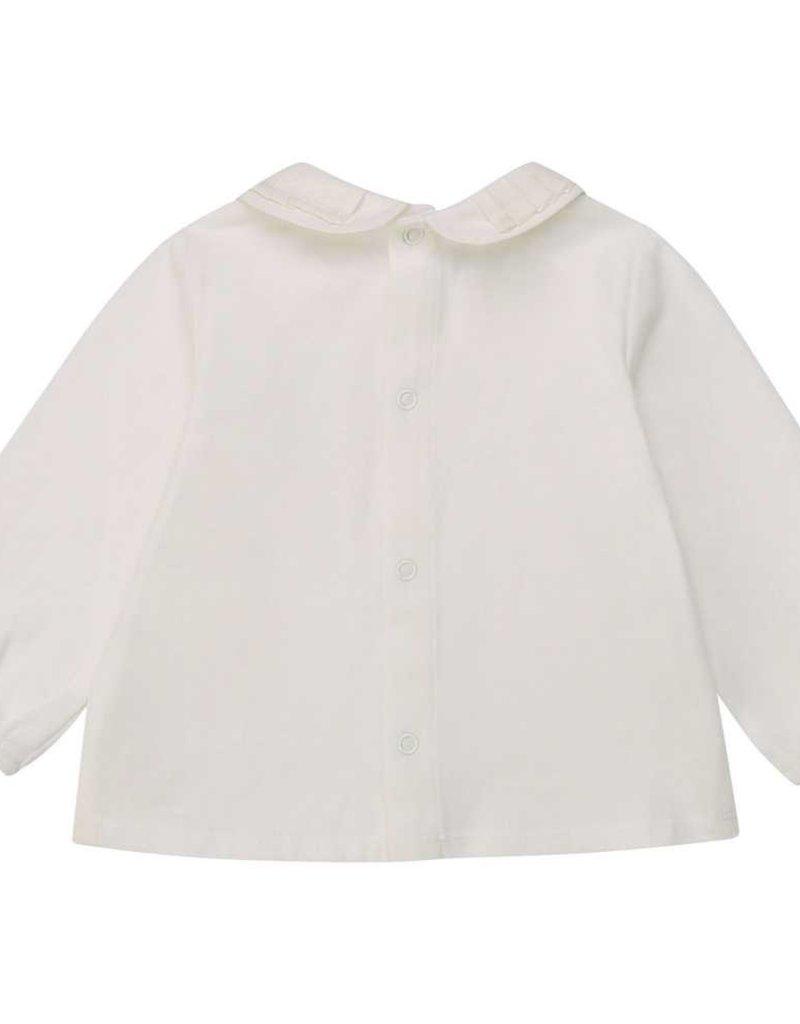 Carrement beau blouse ecru kraagje