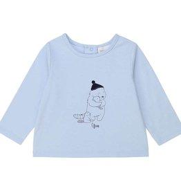 Carrement beau t-shirt l.blauw