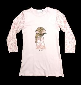 Story Loris nachthemd rose