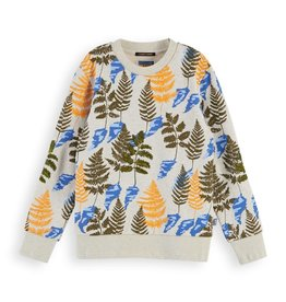 Scotch&Soda  sweater met all over print