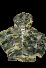 Elsy teddy jas camouflage
