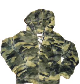 Elsy teddy jas camouflage