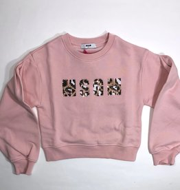 MSGM sweater rose letters msgm