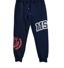 MSGM jogging broek blauw msgm