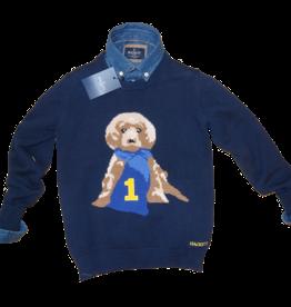 Hackett trui met hond
