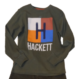 Hackett T-shirt military groen
