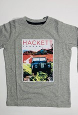 Hackett T-shirt grijs jeep
