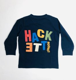 Hackett T-shirt donkerblauw london