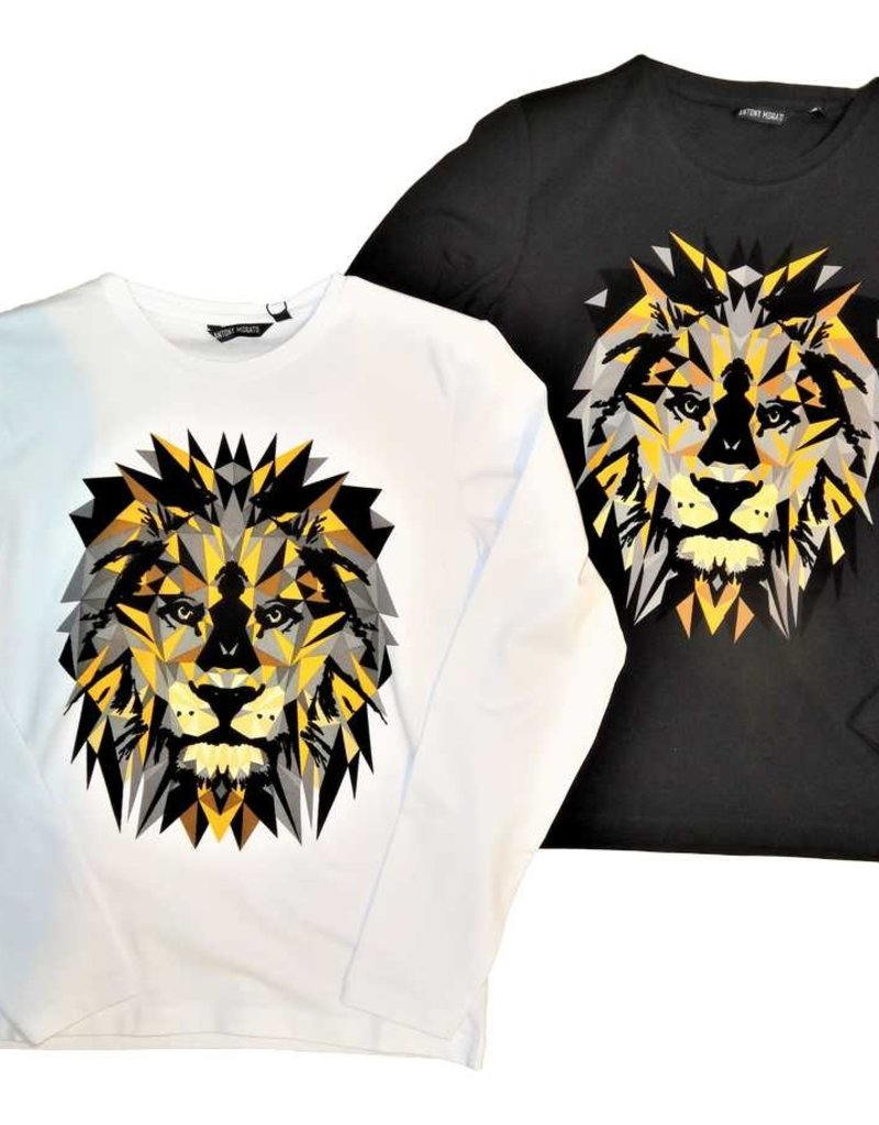 Antony Morato T-shirt wit lm leeuw