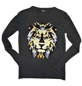Antony Morato T-shirt zwart  lm leeuw