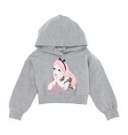 Monnalisa sweater/hoodie grijs Alice