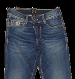 Le temps des cerises jogging jeans blauw